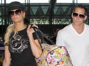 Justin Bieber, Paris Hilton Ashton Kutcher ensemble l'aéroport