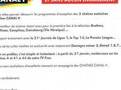 Free chaînes Canal+ offertes durant semaine