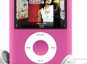 Apple sort l'iPod nano rose