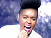 "Video Janelle Monàe chante ""Tightrope"" Grand Palais"