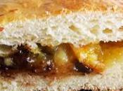 roulés (pâte pain lait, grand-marnier orange) fourrés confiture clémentines chocolat noir