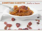 Confiture Carotte, Airelles Raisins