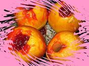Pommes four confiture fraises