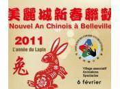Défilé nouvel chinois Belleville