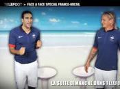 L'Equipe France foot prête danser samba face Brésil vidéo buzz