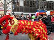 Nouvel chinois Année lapin