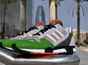 adidas Originals ZX800 Aluminium/Lime