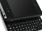 iPhone nouvel écran modèle avec clavier coulissant