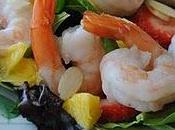 Salade crevettes fruitée Wimzie