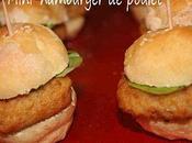 Mini-hamburger poulet