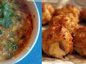 Beignets crabe salsa mangue (crabcake)