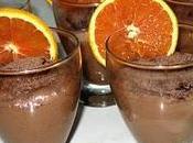Mousse chocolat noir l'orange crème d'érable