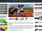 Sunwear-shop.com boutique ligne d'équipements motocross