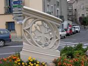 Pézenas (Hérault), chef d'œuvre Compagnon tailleur pierre détruit