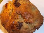 Muffins banane, poires, chocolat noir caramel plaisir gourmand rendez-vous