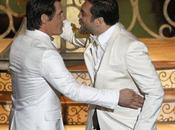 Oscars baiser censuré entre Javier Bardem Josh Brolin vous n'avez (vidéo)