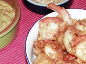 Beignets crevettes croustillants sésame