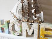 Lettres décoratives