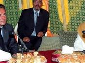 Libye-France Sarkozy Kadhafi: clash