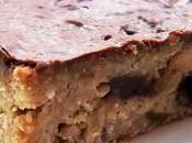 Faux brownie délicieux (ricotta, noix coco, caramels, chocolat noir granola croustillant) comment recycler restes gâteau