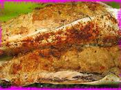 Papillote maquereaux DUKAN mousse sardine,son d'avoine