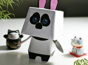 paper toys Panda pour concours rigolo