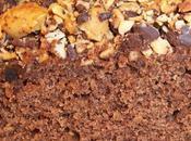 Moelleux, léger décadent chocolat caramels beurre salé, pointe caramel rhum, sous crumble noir cacahuètes grillées salées ooooh