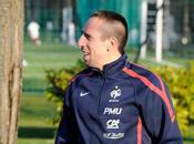 Franck Ribéry premières photos retour équipe France