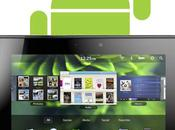 officialise support application Android pour PlayBook