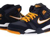Nike Flight Falcon Obsidian/White-Circuit Orange