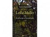 Leslie Muller principe d'incertitude