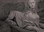 sphinge Monsieur Cocteau Statue