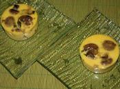Mini flans champignons échalottes