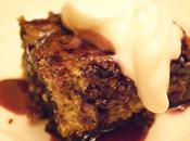 Cherry cake pudding Clafoutis cerise noix pecan