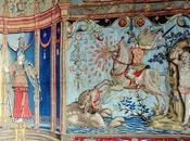 L'éclat renaissance italienne Tissage d'après Raphaël, Giovanni Udine, Jules Romain.