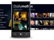 Dailymotion s'invite sous Windows Phone