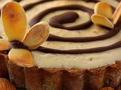 Cent-quarante-deuxième participation Tartelettes glacées dulce leche, chocolat amandes grillées