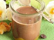 Petits pots crème chocolat/orange adorables lapins Pâques