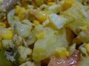Salade pommes terre moutardeé maquereau