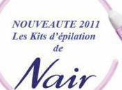 poils Nouveaux kits épilation NAIR