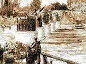 Asnières, pont bateaux, sortie avril, Commune Paris, Vincent Gogh plus tard.
