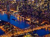 Photographies York nuit Photos aériennes d'une ville époustouflante
