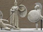 Expo Glyptothèque: statues temple d'Alphaïa Egine sont arrivées Munich
