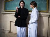 Fashion Week 2011. Arrivées Sorties défilés Agnès Ellie Saab.