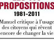 propositions 1981- 2011 Mediapart sous direction Laurent Mauduit