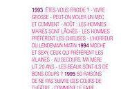 20ans Magazine, anthologie, ouvrage coordonné Marie Barbier