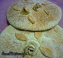 pain Marocain décoré roses