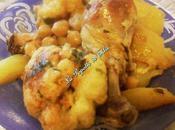 Beignets chou-fleur sauce blanche poulet (Algèrie)