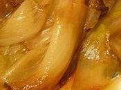 Endives braisées caramélisées cidre