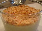 Crème brûlée beaufort chapelure lard